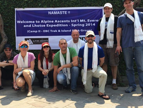 Everest & Lhotse Expedition with Camp II by Alpine Ascents International (USA) team