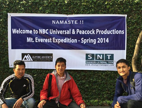 filming expedition to the Everest Region
