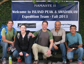 expedition to Amadablam and Island Peak