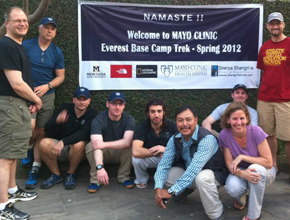 expedition to Everest Base Camp for high altitude research