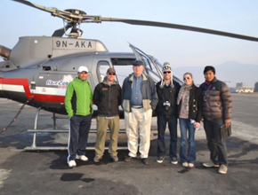 Heli Excursion for panoramic excursion of the Everest region